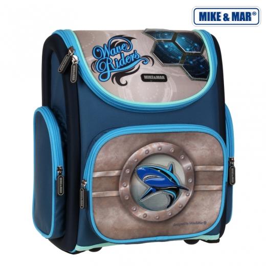 Школьный рюкзак раскладной Mike&Mar Майк Мар Акула 5040-ММ-16, - фото 1