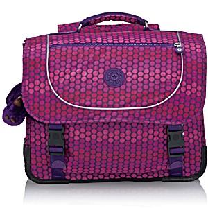 Ранец Kipling POONA M цвет Фиолетовый Горох