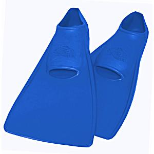 Ласты ProperCarry детские закрытая пятка для бассейна резиновые размер – 26 синие ПРОПЕРКЭРРИ