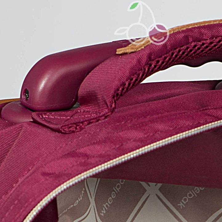 Школьный рюкзак на колесах для девочки - ранец Wheelpak Classic BORDO - арт. WLP3200 (для 2-4 класс, 21 литр), - фото 4