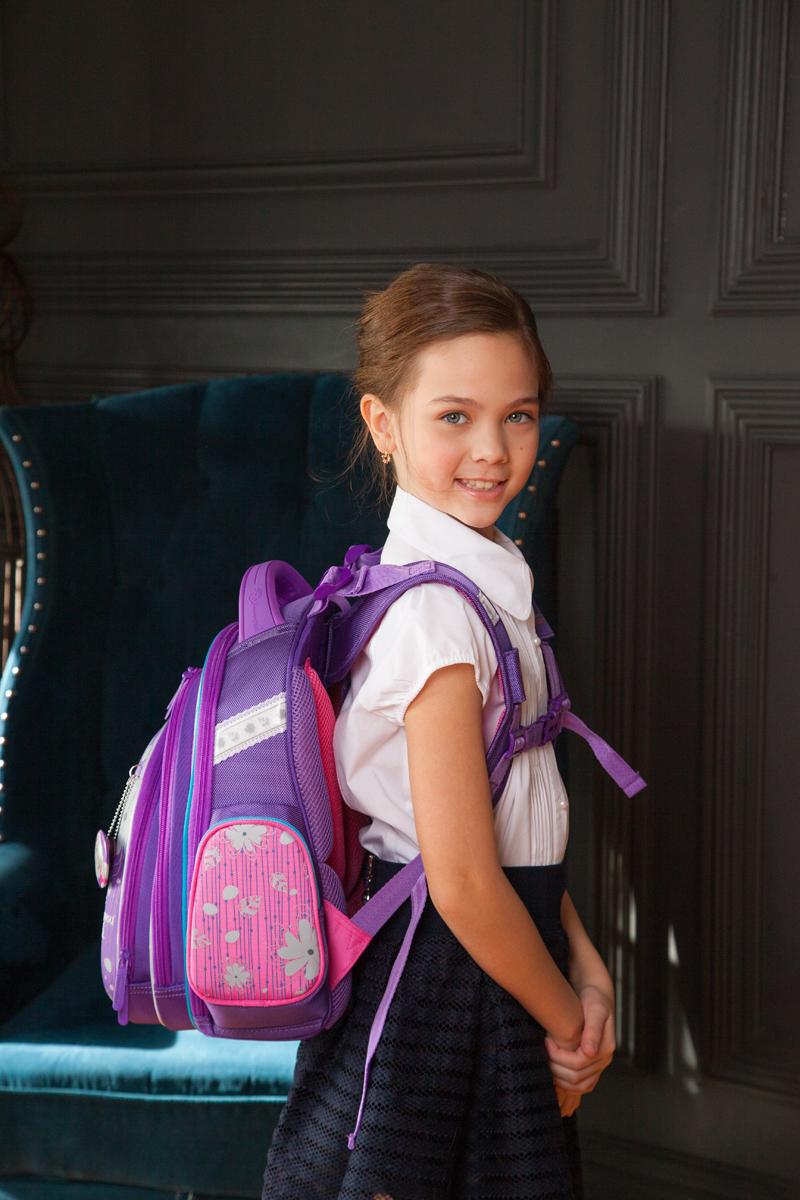 Школьный рюкзак Hummingbird TK55 официальный с мешком для обуви, - фото 5