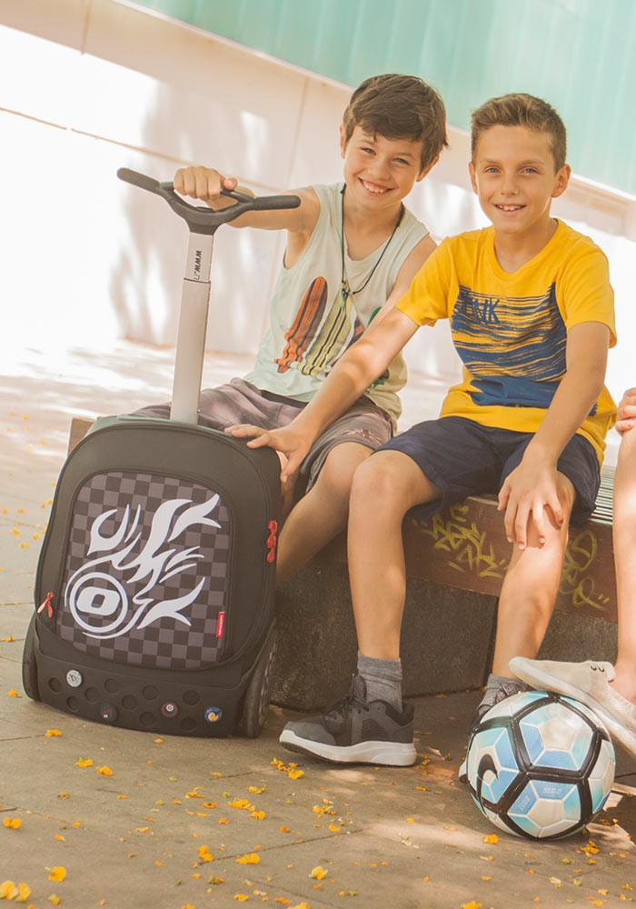 Рюкзак на колесиках Roller Nikidom White Fire XL арт. 9319 (27 литров), - фото 16