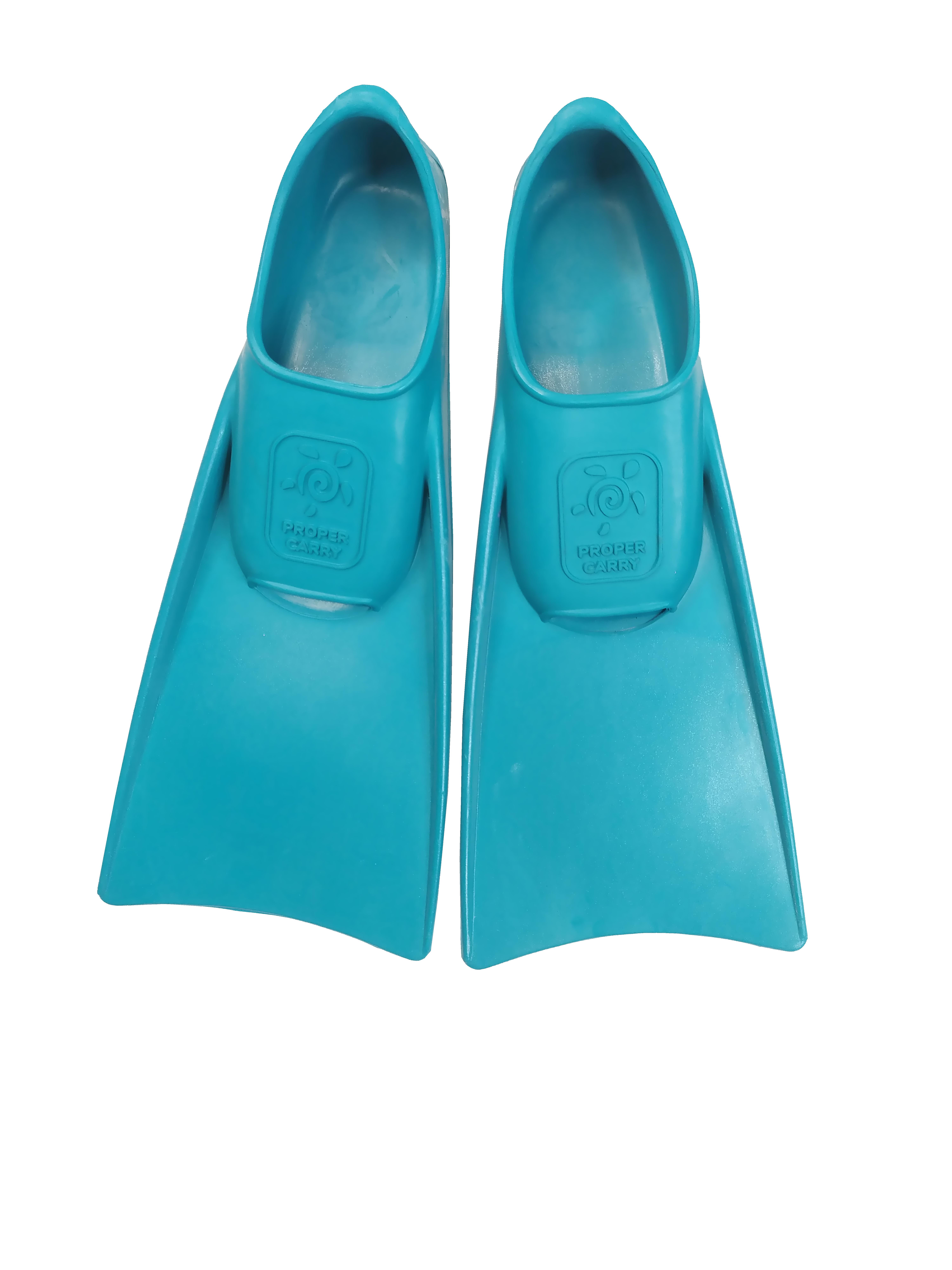 Детские ласты для плавания Proper-Carry тренировочные р. 29-30, 31-32, 33-34, 35-36, 37-38, 39-40, - фото 2